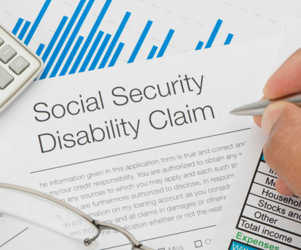 social security disability claim paperwork\