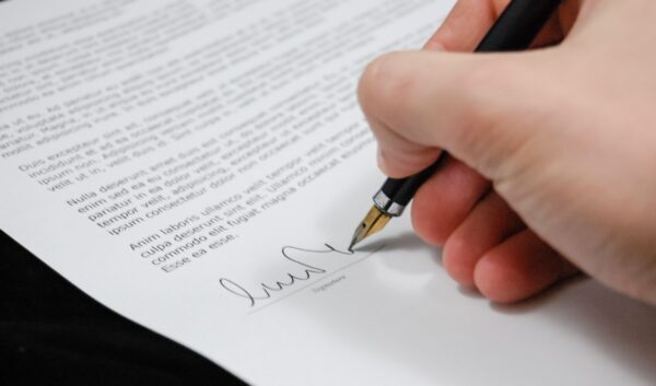 writing a legal document